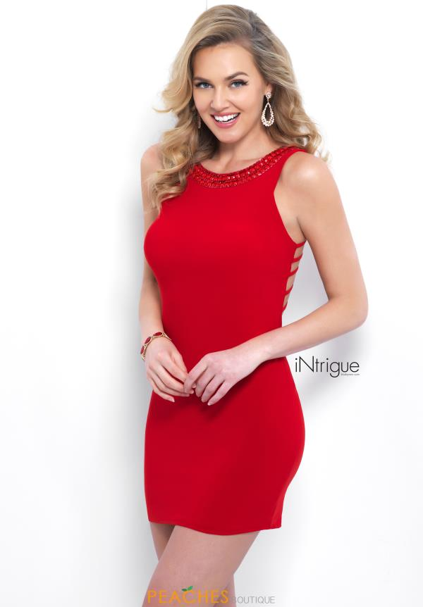 Intrigue by Blush Short Jersey Dress 388