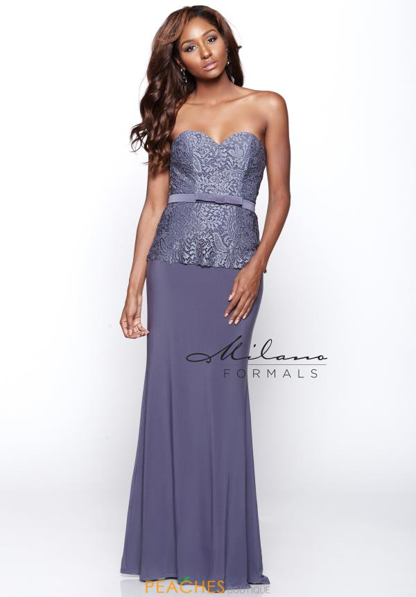 Strapless Long Milano Formals Dress E2085