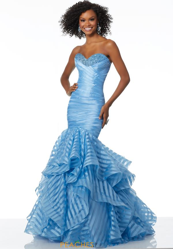 Mori Lee Strapless Mermaid Dress 42038
