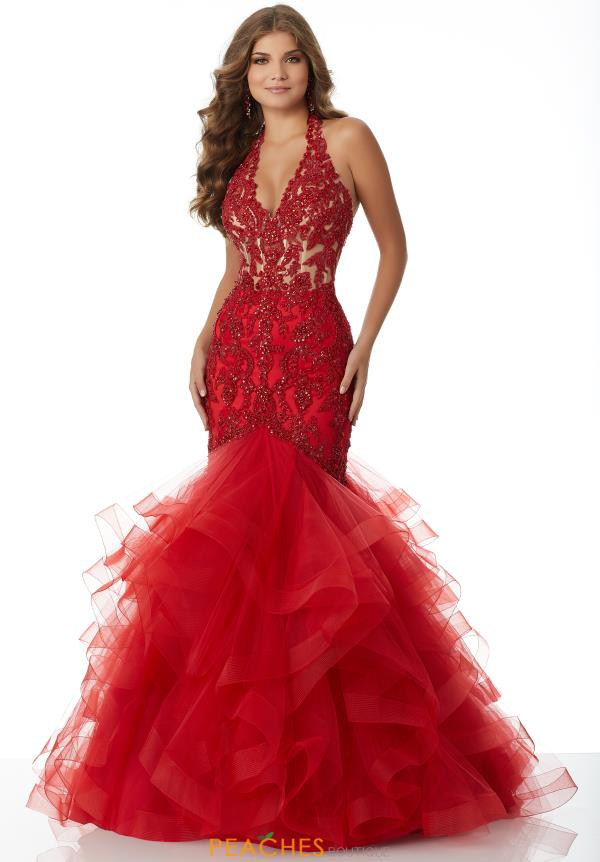 Mori Lee Lace Mermaid Dress 42048