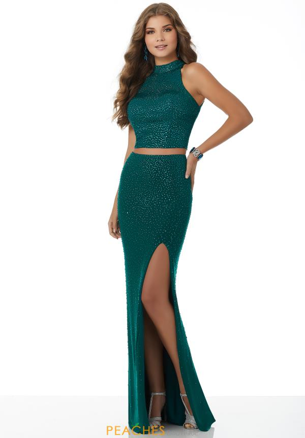 Mori Lee Long Fitted Dress 42121