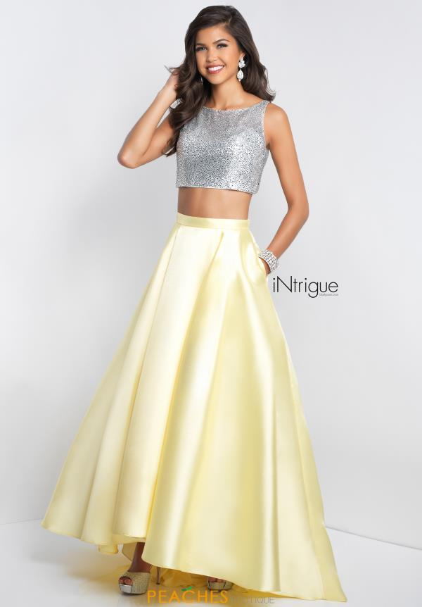 Intrigue by Blush Two Piece A Line Dress 419