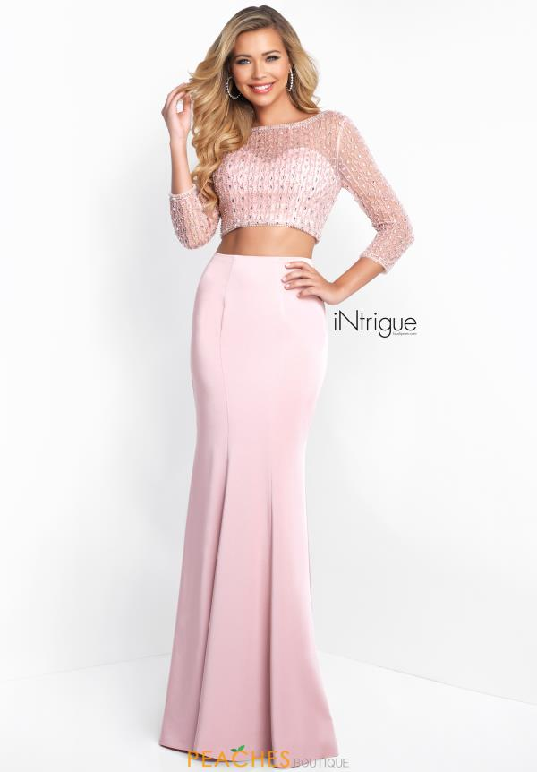 Intrigue by Blush Two Piece Fitted Dress 438