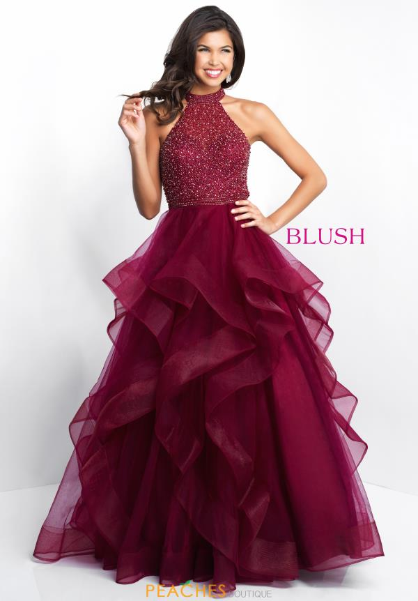 Blush Beaded Dress 5654