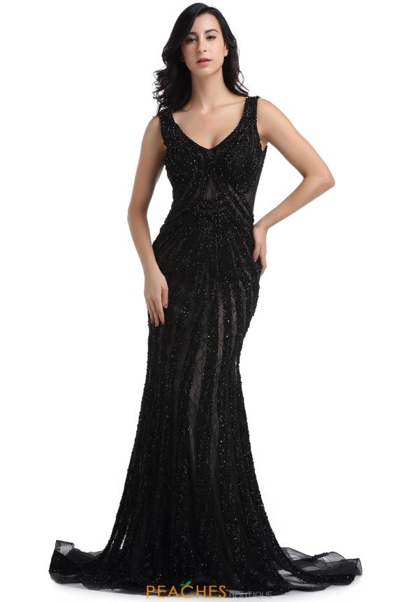 Romance Couture Long Beaded Dress RM6106
