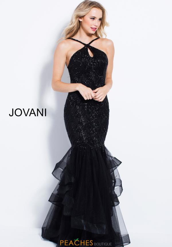 Jovani Haltered Long Dress 48732