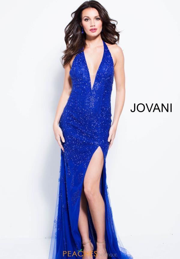 Jovani Fitted Beaded Dress 58508