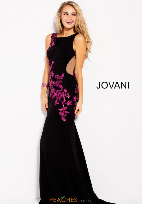Jovani Long and Fitted Dress 58966