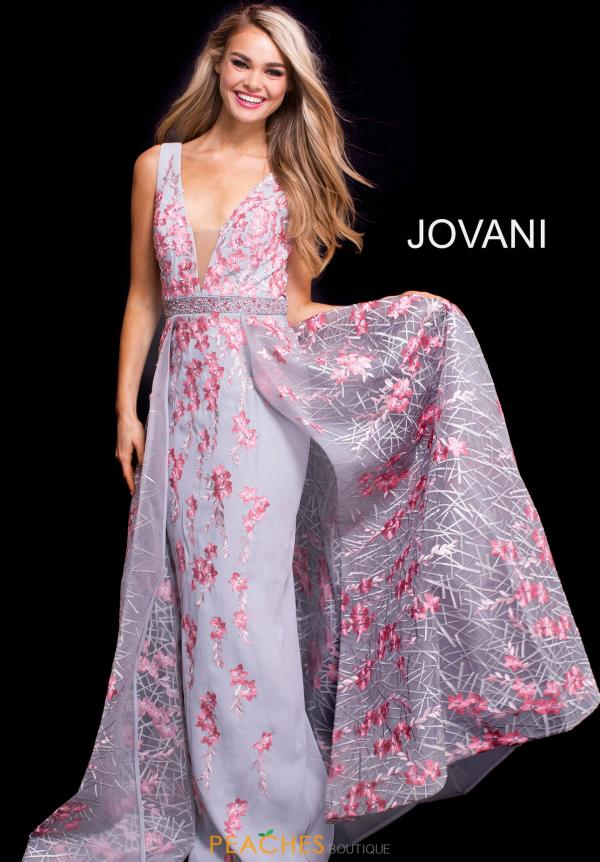 Jovani Long A Line Dress 58935