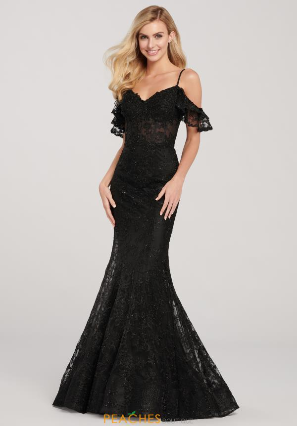 Ellie Wilde Off the Shoulder Lace Dress EW119081