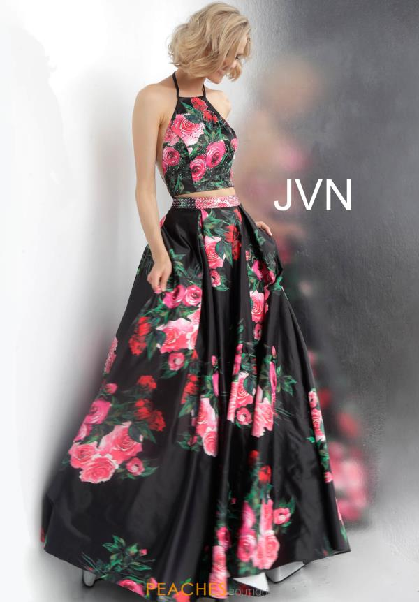 JVN by Jovani Two Piece Print Dress JVN66058