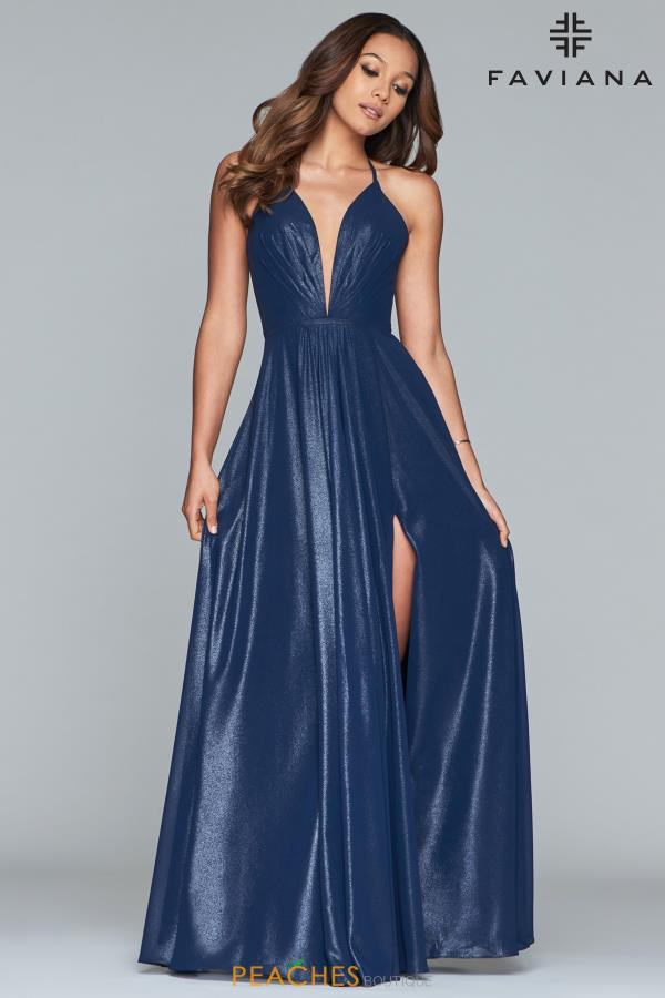 Faviana Flowing A-Line Dress 10264