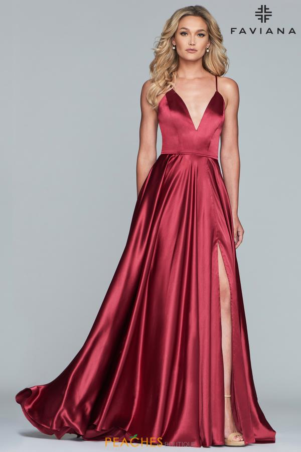 Faviana Sophisticated A-Line Gown S10209