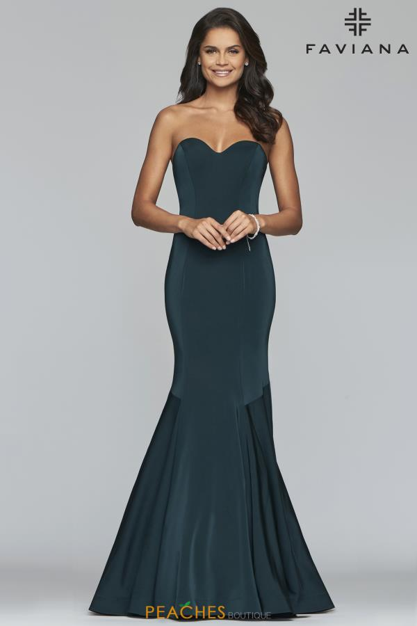 Faviana Strapless Mermaid Dress S10213