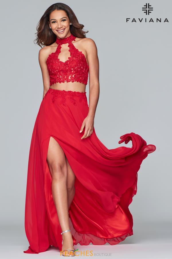 de867b8719c29 Faviana Dress S10220 | PeachesBoutique.com