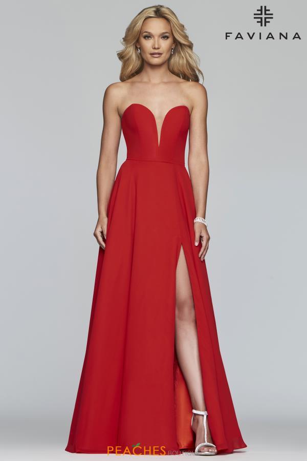 b4bd1f400993 Faviana Dress S10232   PeachesBoutique.com