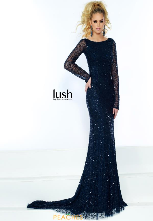 Jasz Couture Sleeved Fitted Dress 1534