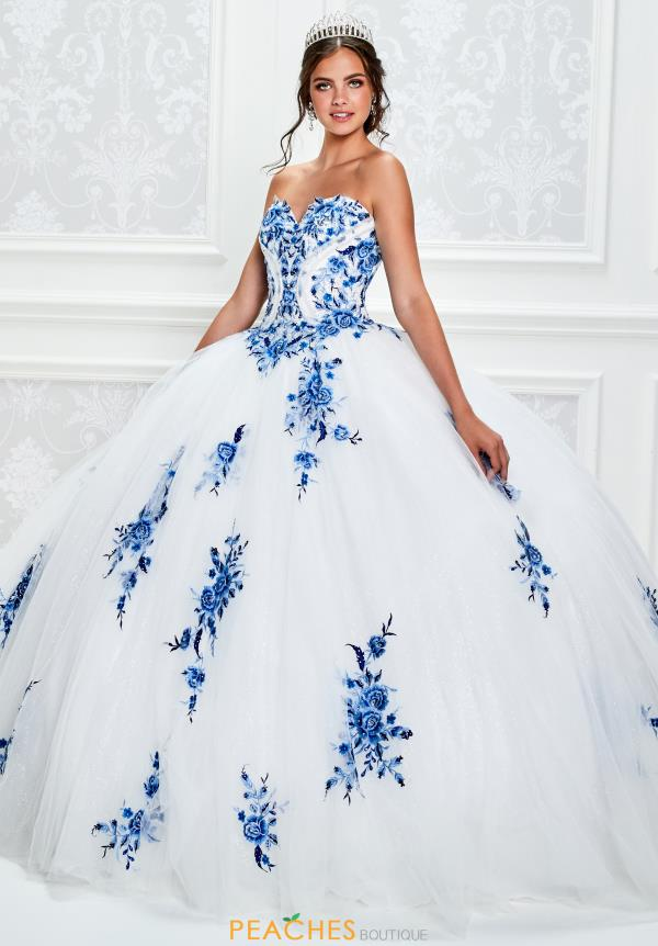 Princesa Strapless Ball Gown PR11928