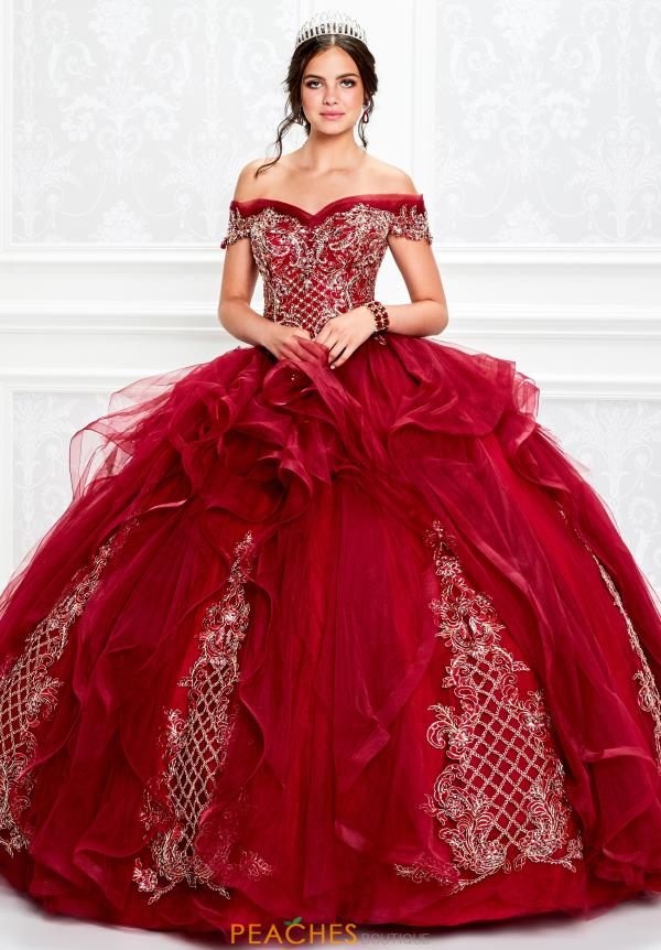 Princesa Off the Shoulder Ball Gown PR11934
