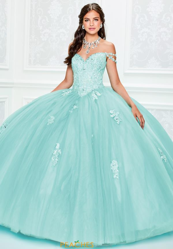 Princesa Off the Shoulder Ball Gown PR11939