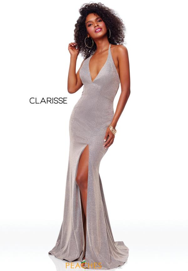 Clarisse V-Neck Fitted Dress 3790