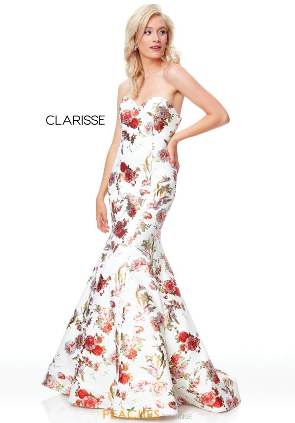 Clarisse Sweetheart Fitted Dress 3801
