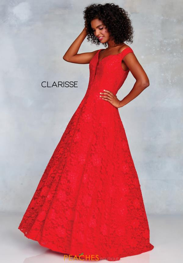 Clarisse Full Figured Lace Dress 3838