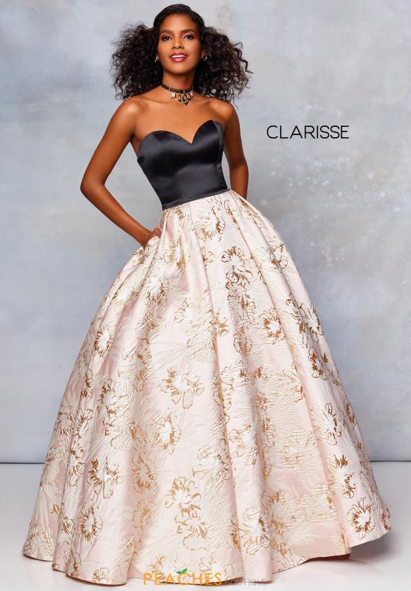 Clarisse Full Figured Sweetheart Dress 5032