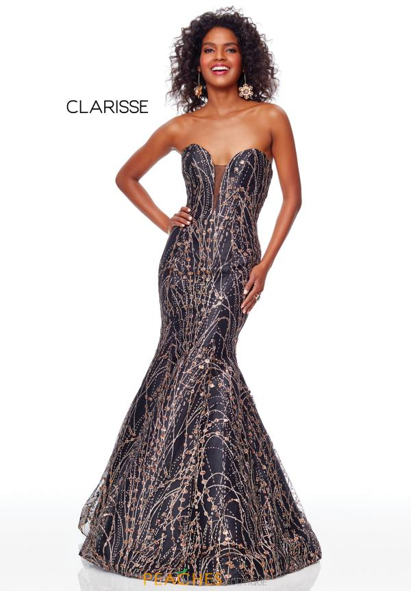 Clarisse Mermaid Long Dress 3719
