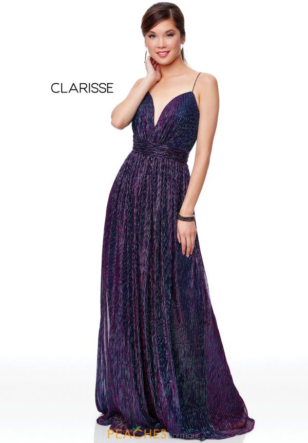 Clarisse Full Figured V-Neck Dress 3727