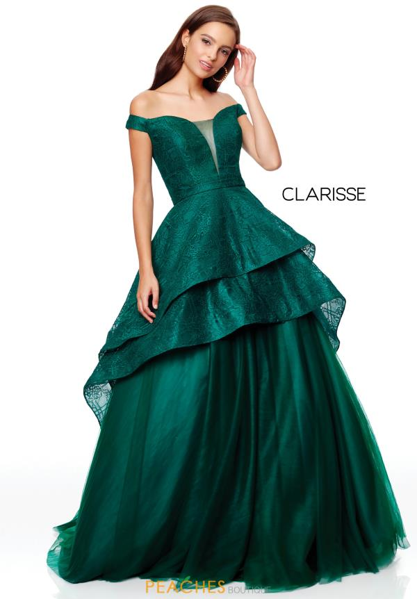 Clarisse High Low A Line Dress 3730