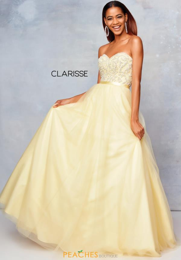 Clarisse Sweetheart Long Dress 3738