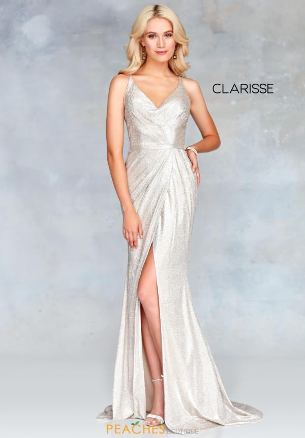Clarisse Sexy Back Fitted Dress 3766