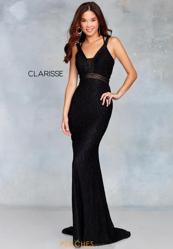 Clarisse Lace Fitted Dress 3829