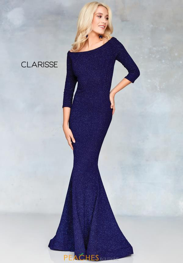 Clarisse Long Sleeve Fitted Dress 3853