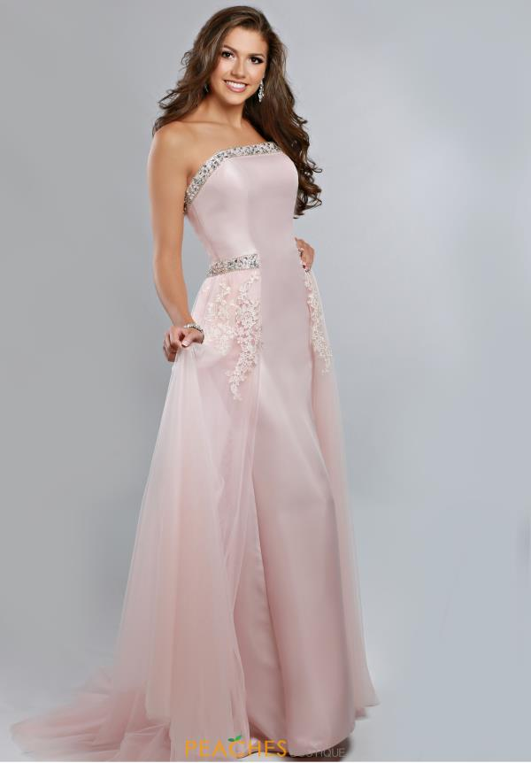 Ritzee Strapless Long Prom 1901