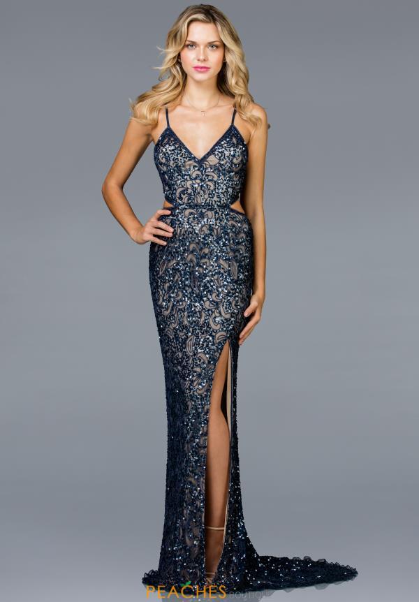 c7d3abad Scala Prom Dress 48930 | PeachesBoutique.com