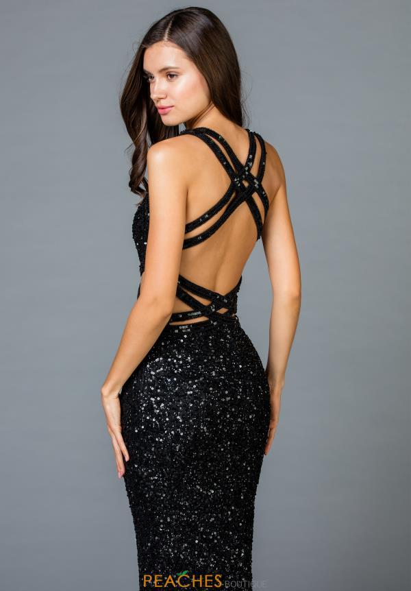 773e27590c43 Scala Prom Dress 48946   PeachesBoutique.com