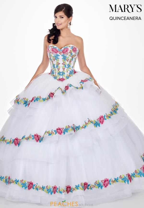 Mary's Strapless Ball Gown MQ1038