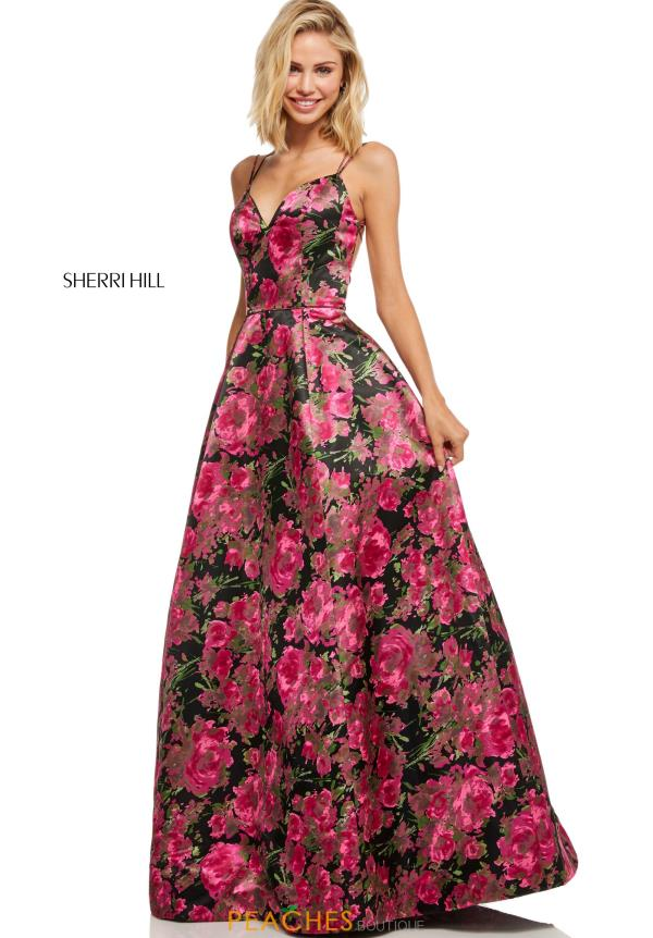 Sherri Hill Dress 52627 Peachesboutique