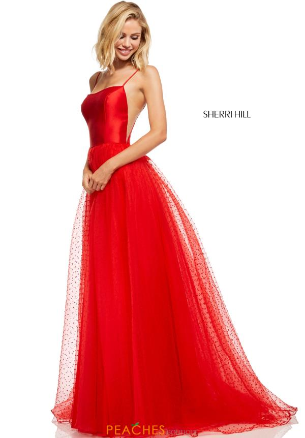 Sherri Hill A Line Tulle Dress 52639