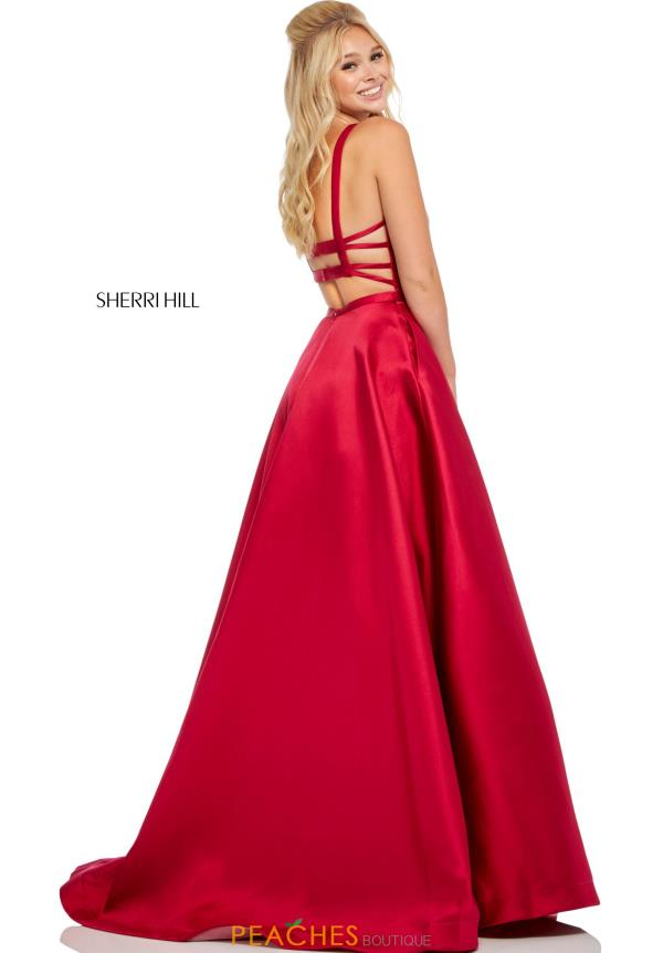 Sherri Hill Long A Line Dress 52715
