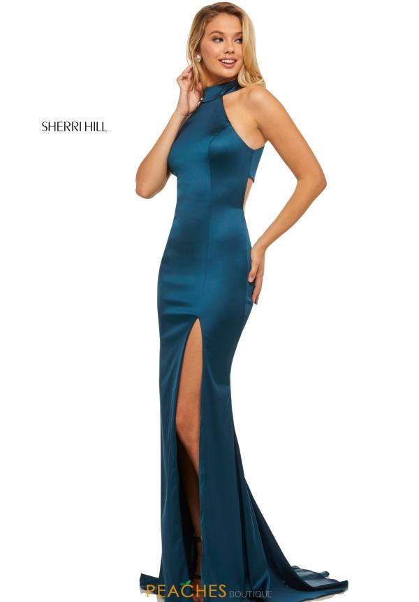 Sherri Hill Long Fitted Dress 52795