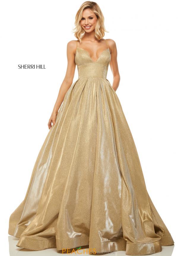 7335d4881 ... Designers · Sherri Hill; 15552832. Gold. #52832. 1 of 3. Gold