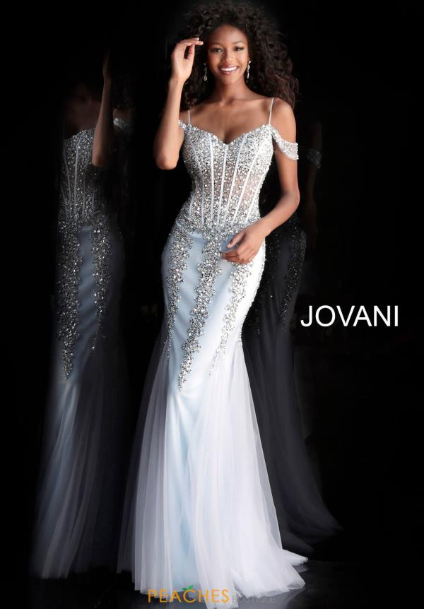 Jovani Cap Sleeve Full Figured Dress 51115