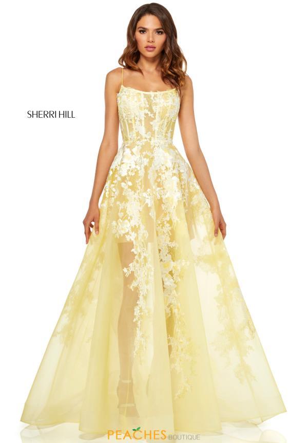 3b571ea539aff Sherri Hill Dress 52448   PeachesBoutique.com