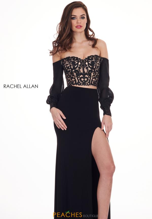 Rachel Allan Fitted Two Piece Dress 6554