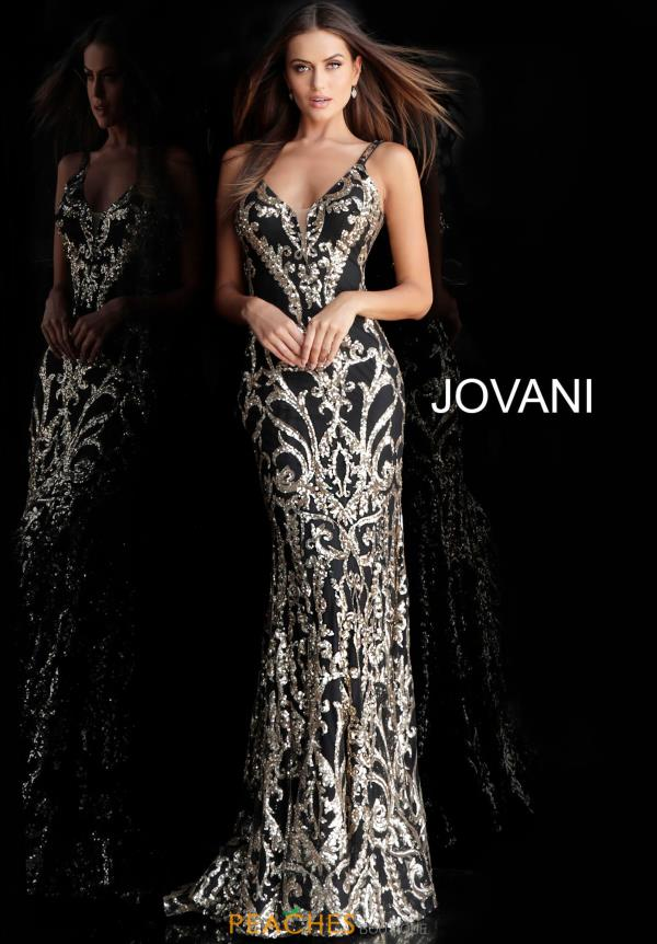 Jovani Long Black Dress 63350