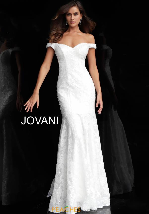 Jovani Cap Sleeve Lace Dress 57024