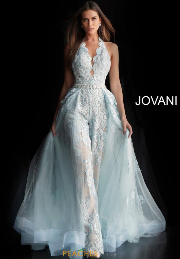 Jovani Beaded Romper Dress 60124